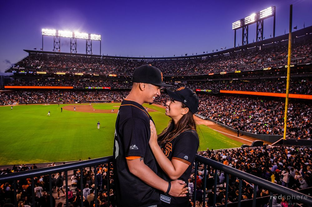 San Francisco Giants Fan Engagement at AT&T Ballpark Baseball Stadium