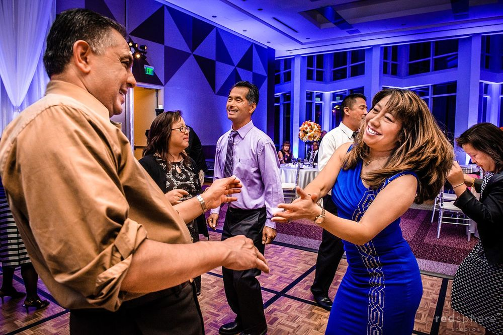 Family and Friends Showing off Their Dance Moves at Intercontinental Hotel After Party