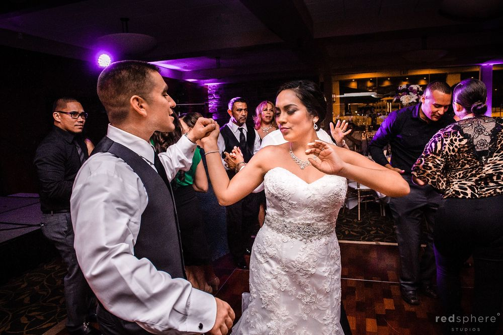 Bride and Groom Dance at After Party