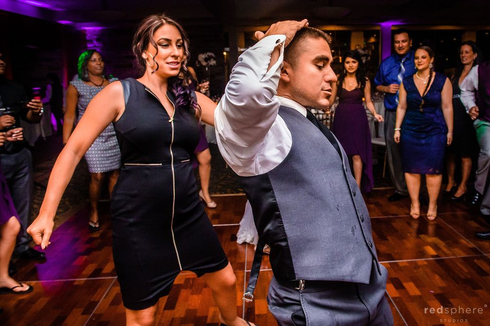 Guests hit the Dance Floor at Palo Alto Hills Golf Club