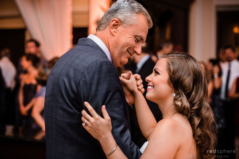 Bride Sharing a Dance With her Father at Berkeley Wedding