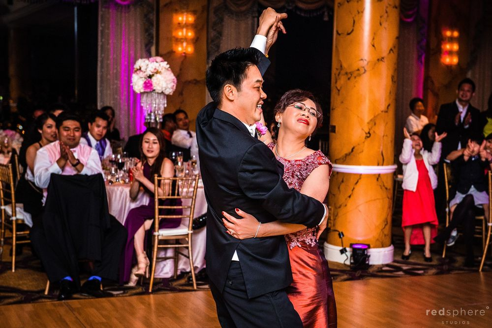 Family Members Share a Dance at Wedding After Party