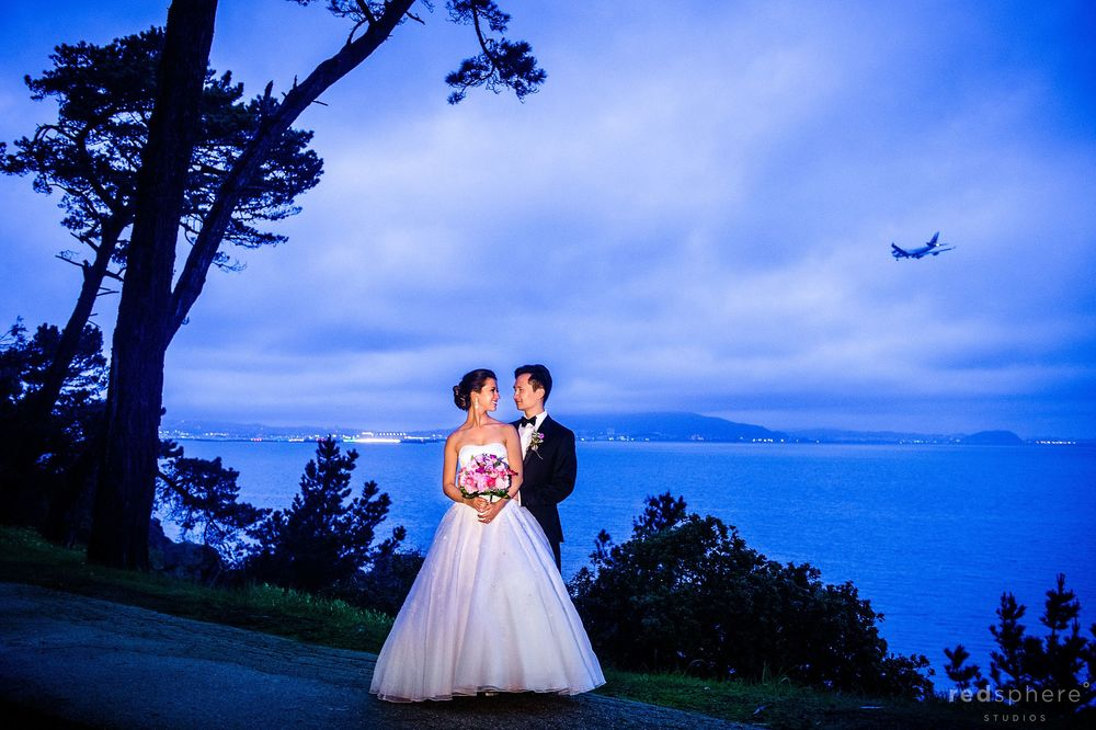 CuriOdyssey, San Mateo, CA Wedding, Nightfall