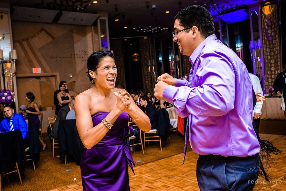 Bride's Mother Full Smiles on the Dance Floor, Westin St. Francis San Francisco