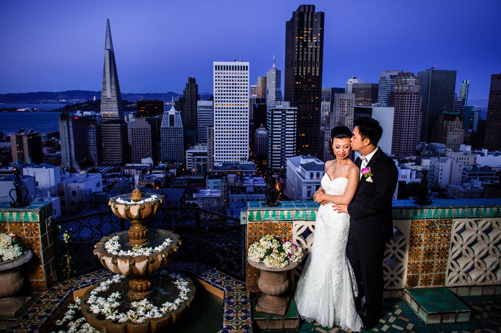 Jesse & Ken's Wedding Fairmont Hotel. San Francisco, CA