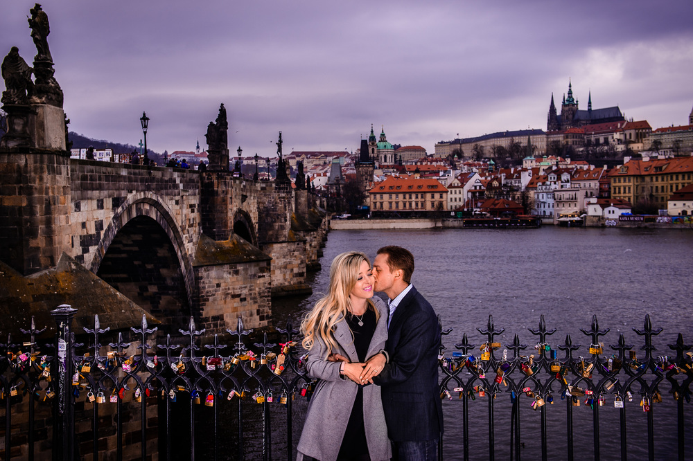 Vanessa & Peter's Engagement Prague, Czech Republic