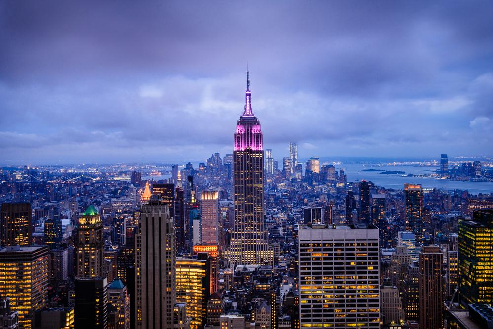 The Empire State New York, NY