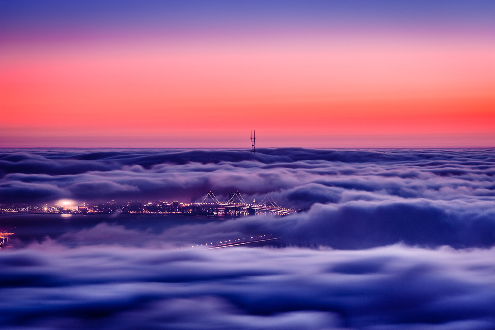 The Sea of Fog San Francisco, CA