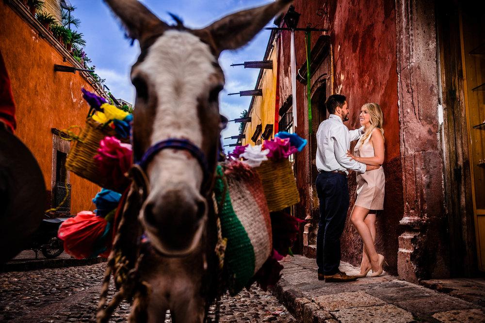 Amber & George's Engagement San Miguel de Allende, Mexico