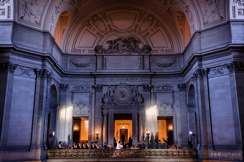 wedding ceremony city hall sf