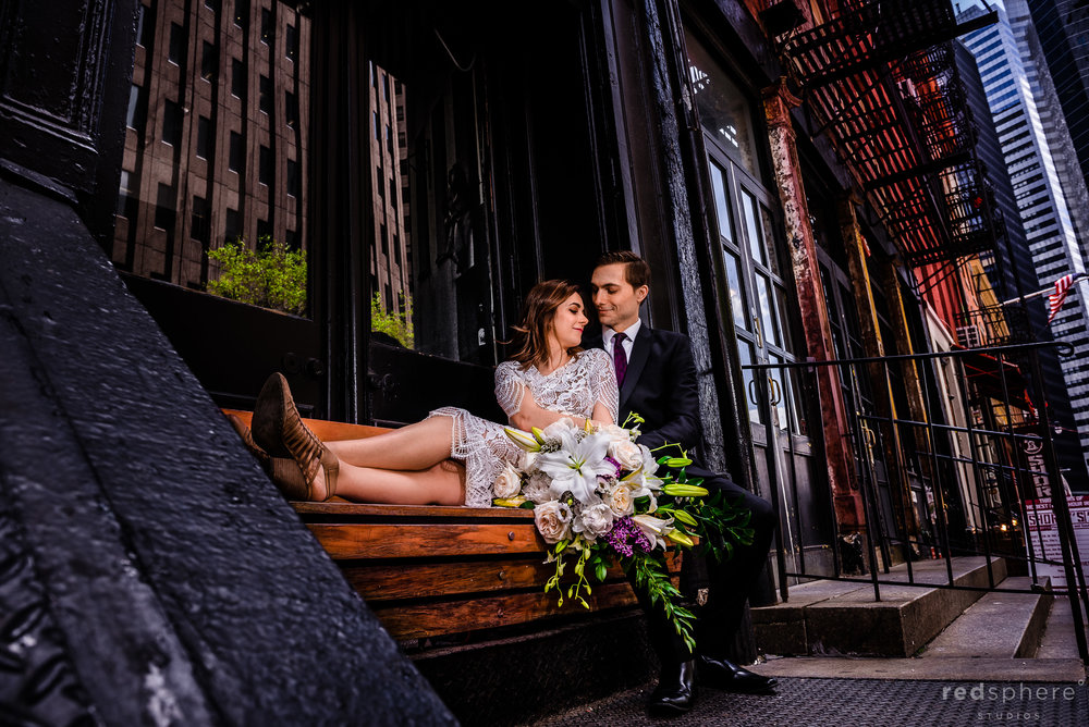 Downtown New York City Wedding