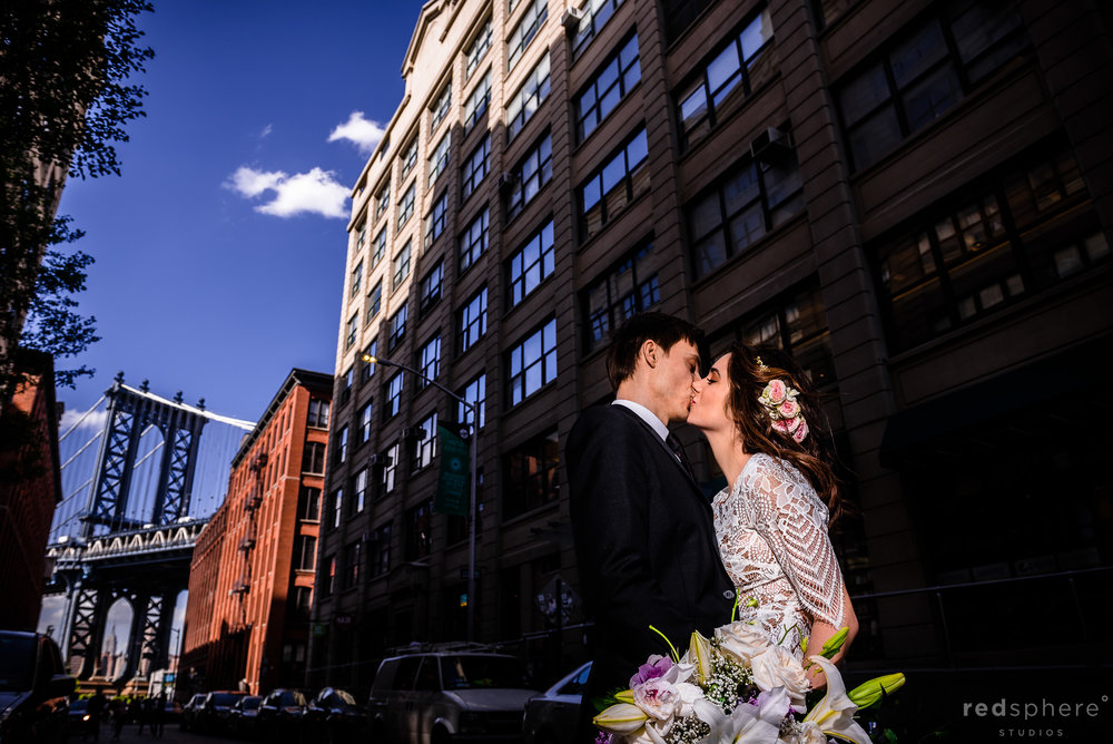 DUMBO Wedding Photos in Brooklyn, NYC