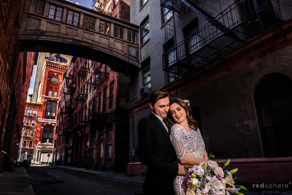 New York City Wedding in TriBeCa, SOHO (Manhattan)