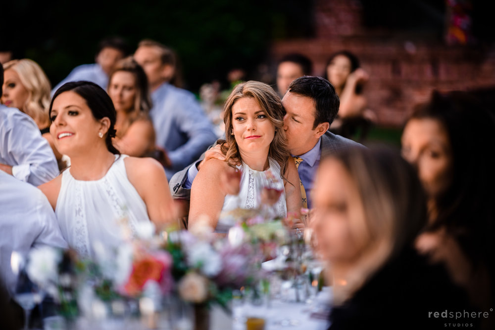 Wedding Reception Speeches Guests Emotions. Harvest Inn By Charlie Palmer, St. Helena, Napa Valley