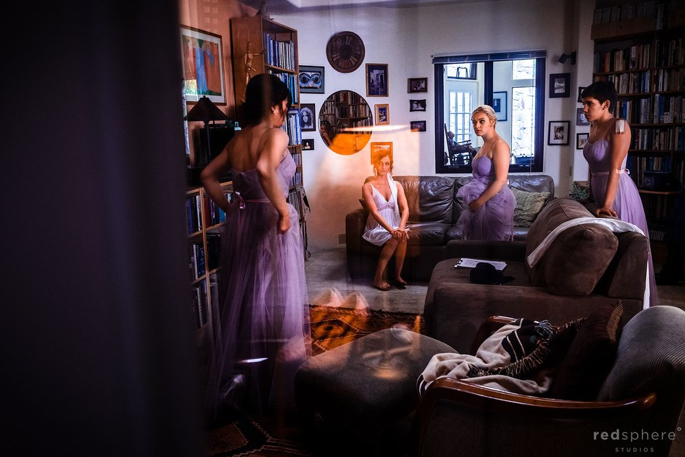 Big Sur Stone House Wedding - Getting ready