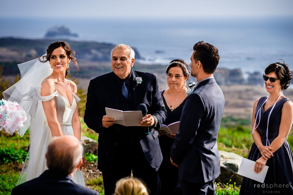 Intimate Big Sur Destination Wedding