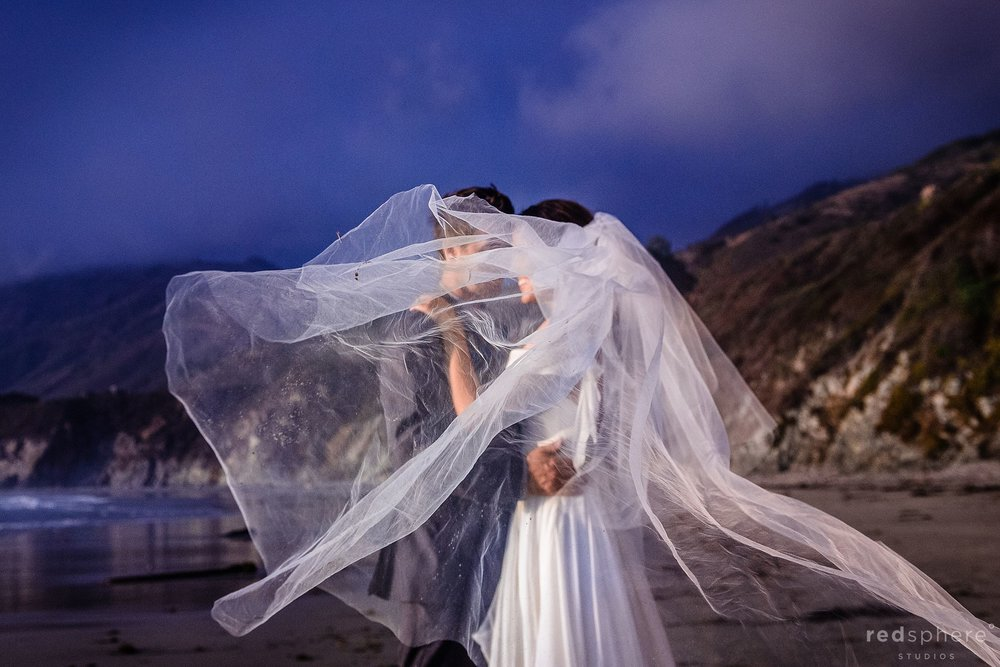 Intimate Big Sur Beach Wedding
