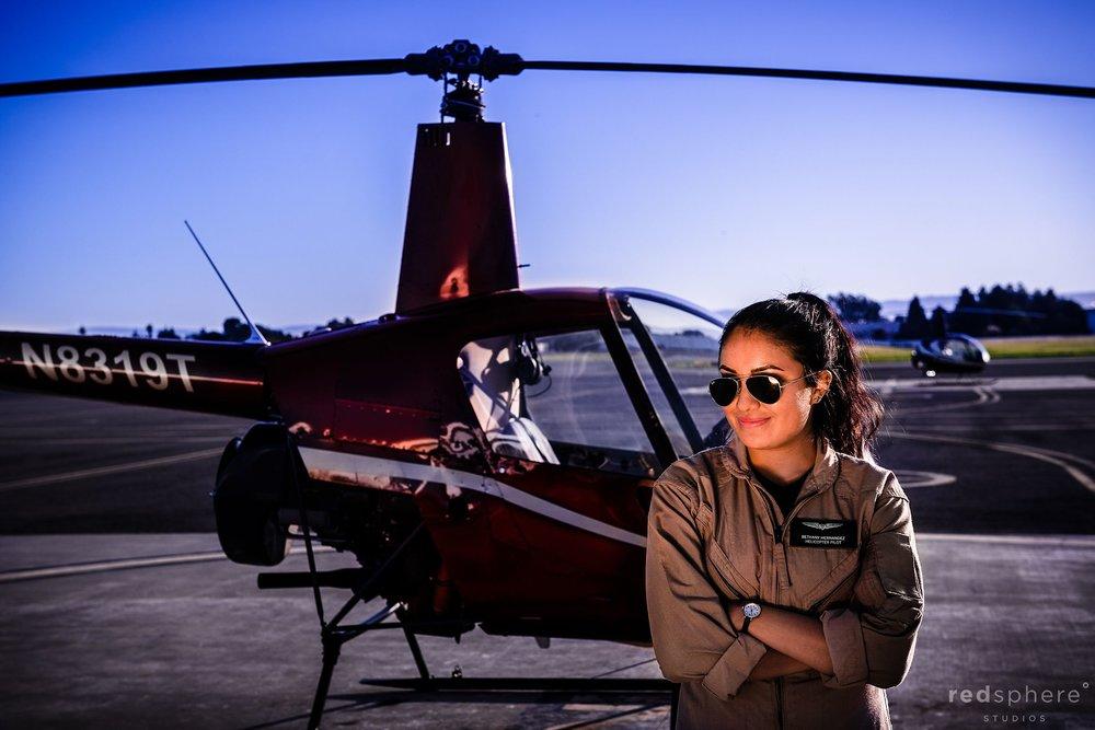 Bethany Hernandez: Helicopter Pilot
