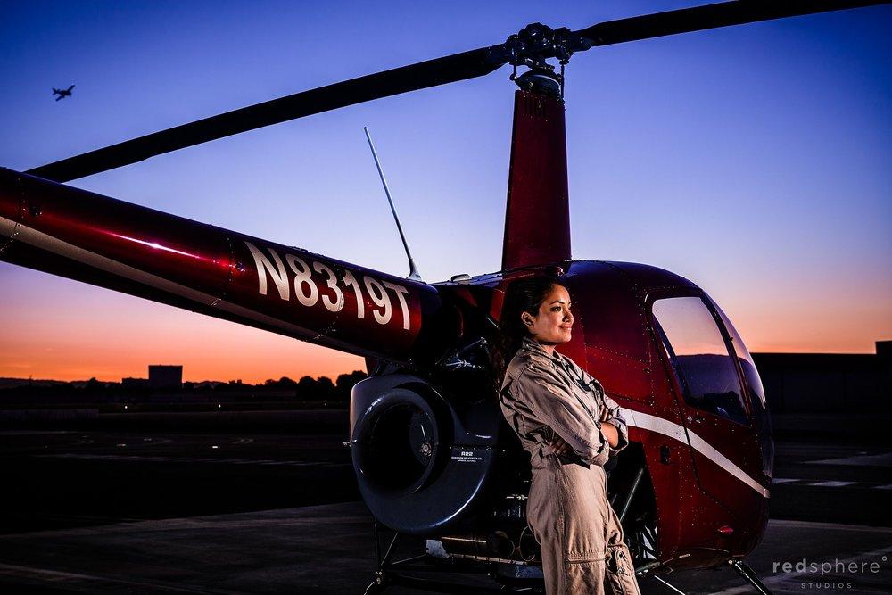 Bethany Hernandez: female helicopter pilot