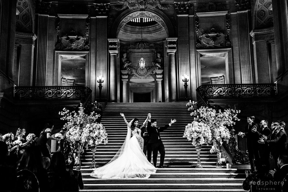 San Francisco City Hall - Wedding Ceremony