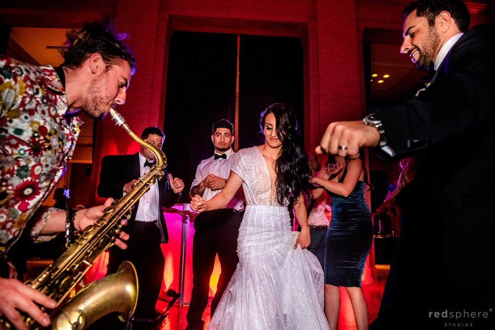 San Francisco Bently Reserve Wedding - Justin Ward sax