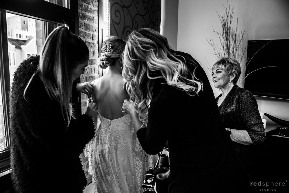 Intimate Wedding at Fairmont Heritage Place, San Francisco