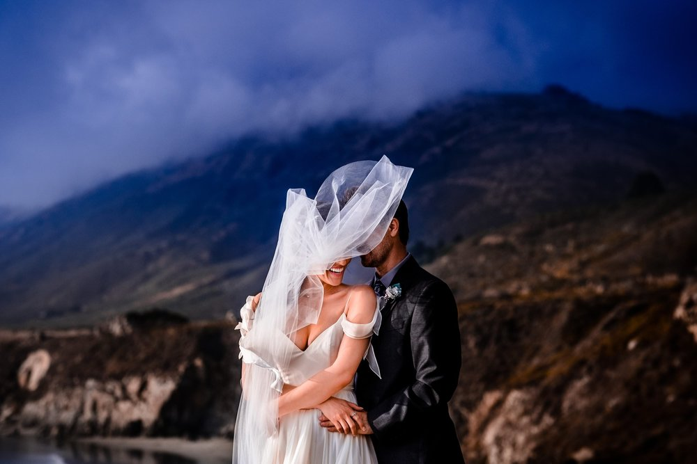 Big Sur destination wedding photography