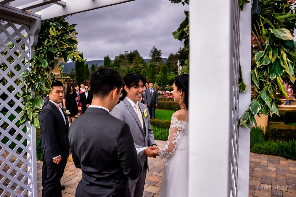 Regale Winery and Vineyards Wedding Photography Los Gatos