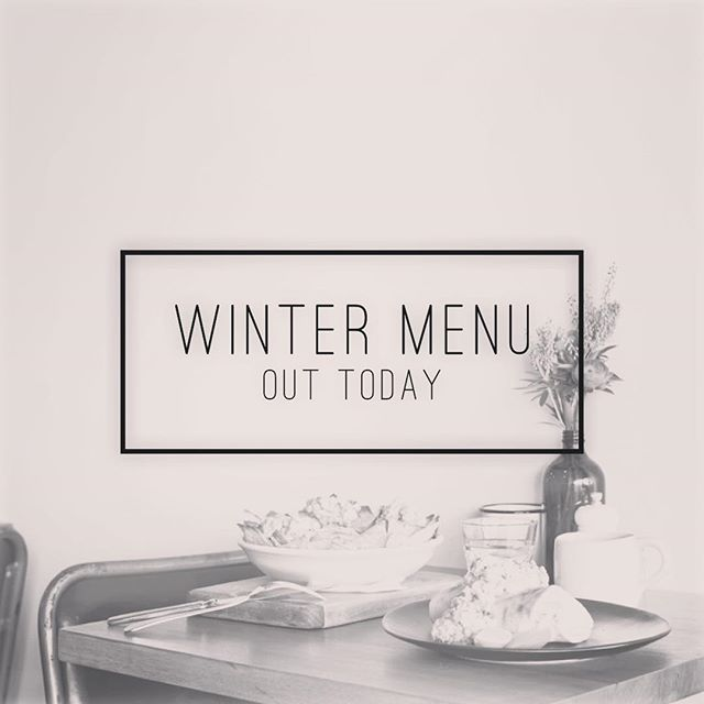 Winter Menu Out Today! 🙌🏼 . . . . . . . #winter #melbournefood #cafe #melbournecafe #thornbury #thornburycafe #family #smallbusiness #supportsmall #coffee #melbourne #melbournecafes #highstthhornbury #melbournecoffee #brotheralec #melbourneeats #cafesofinstagram #broadsheetmelbourne #visitmelbourne #melbournetodo #supportlocal #women