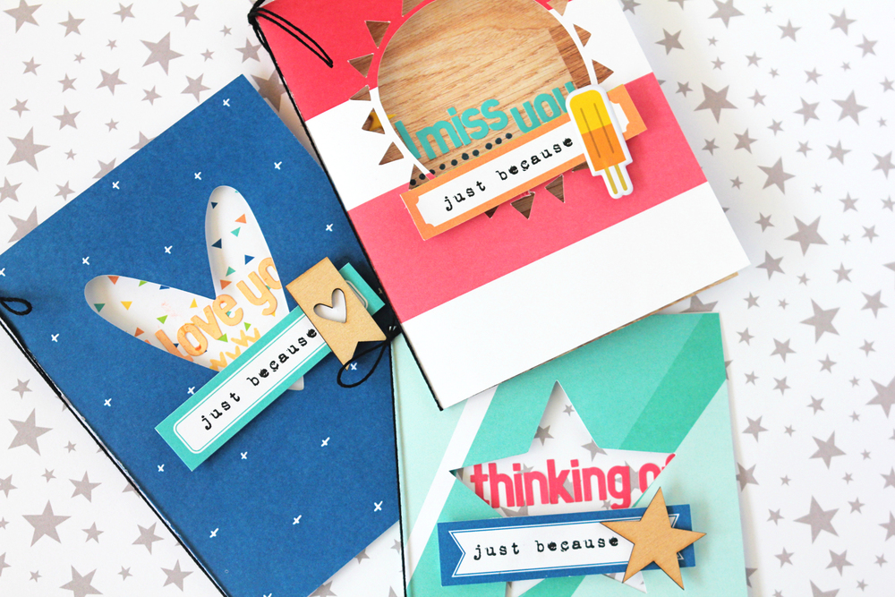 Blogged:  Just Because Cards