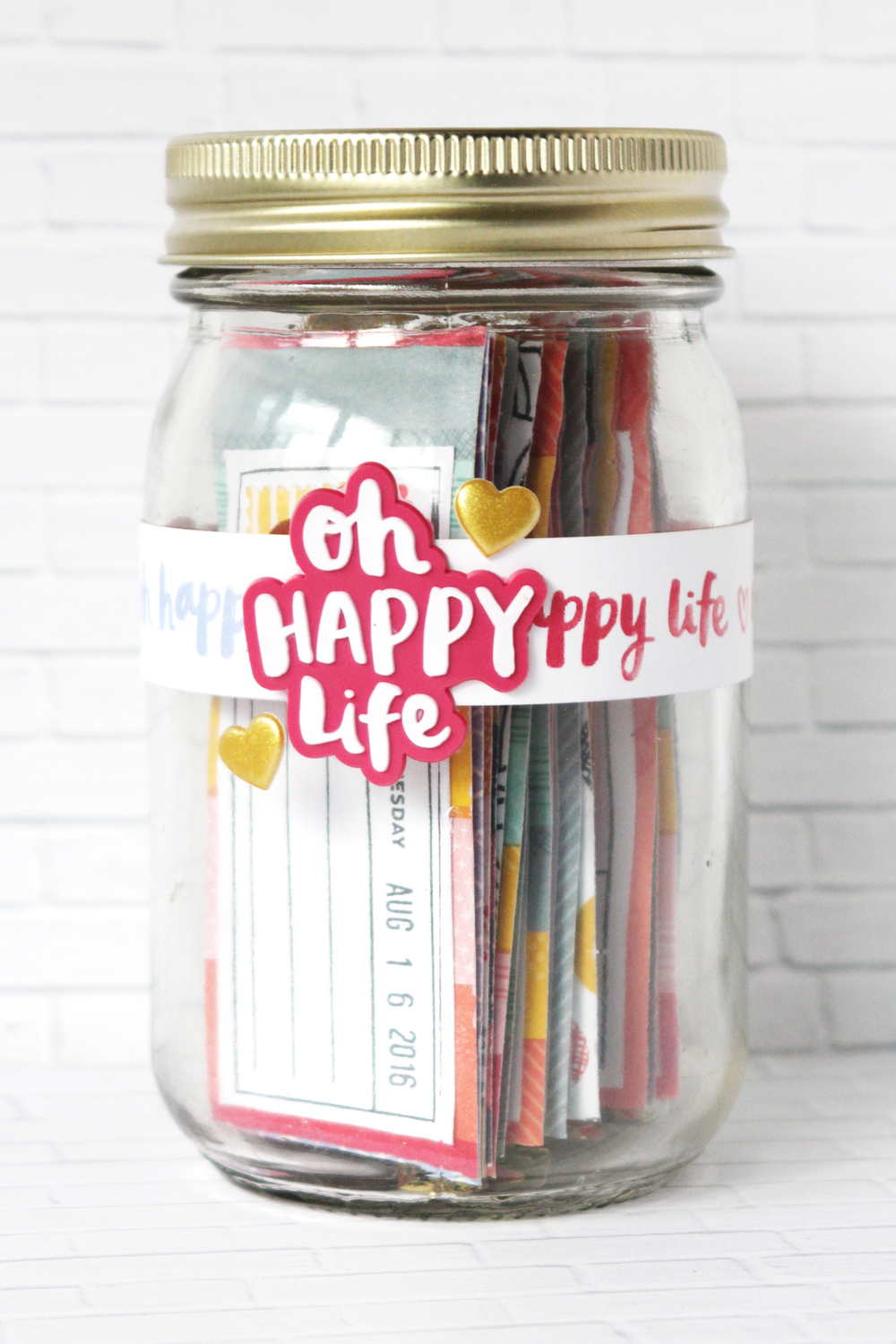 Blogged:  Happiness Jar