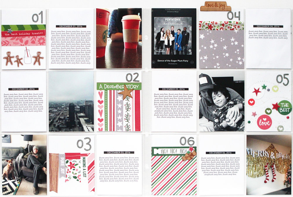 Blogge:  December Pocket Memories