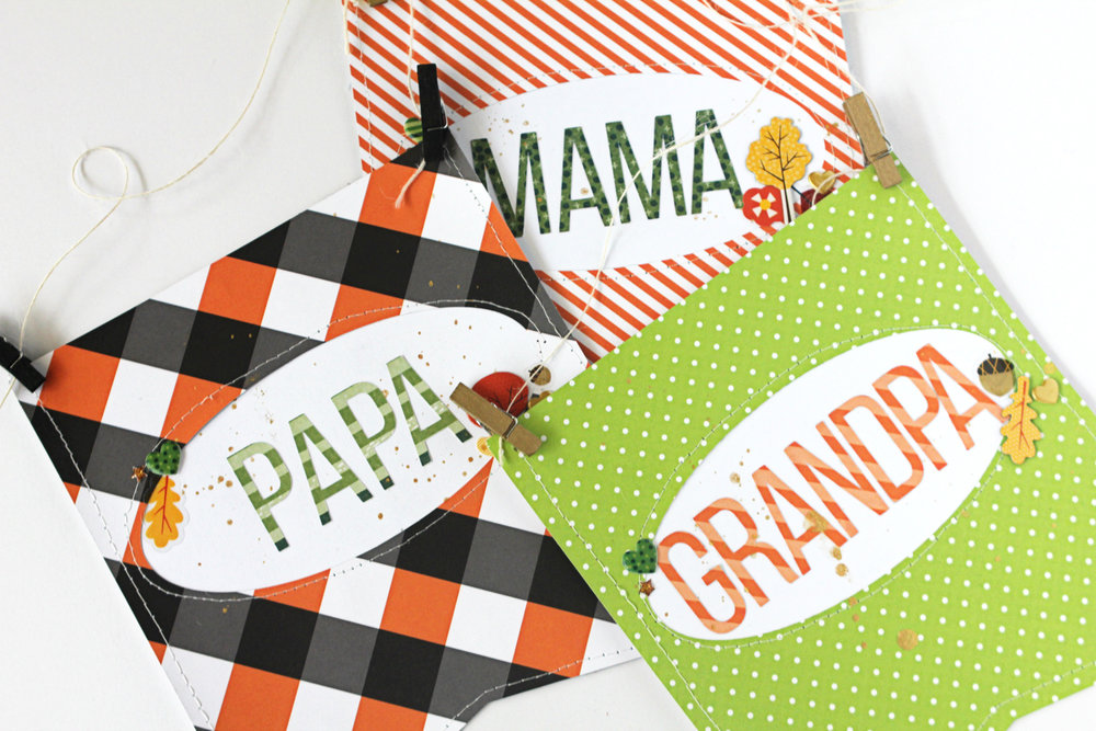 Blogged:  Thanksgiving Place Hangers