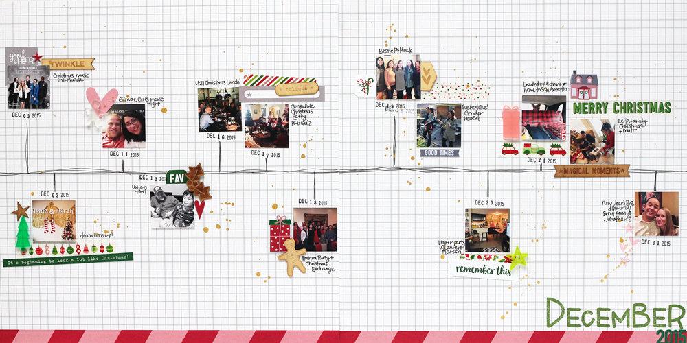 Blogged: December 2015 Timeline