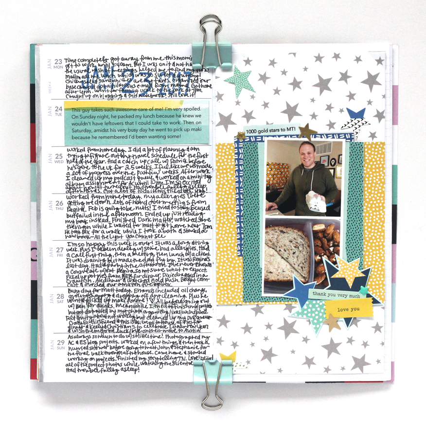 Blogged:  Memory Notebook Week 0  4