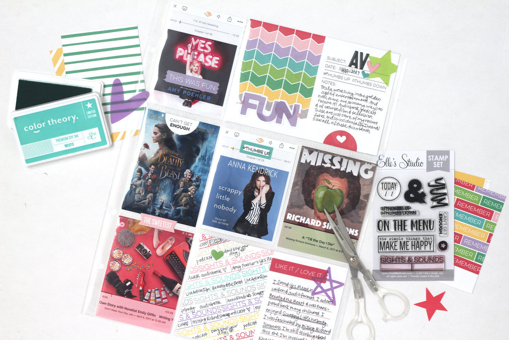 Supplies Used: April 2017 Monthly Kit,