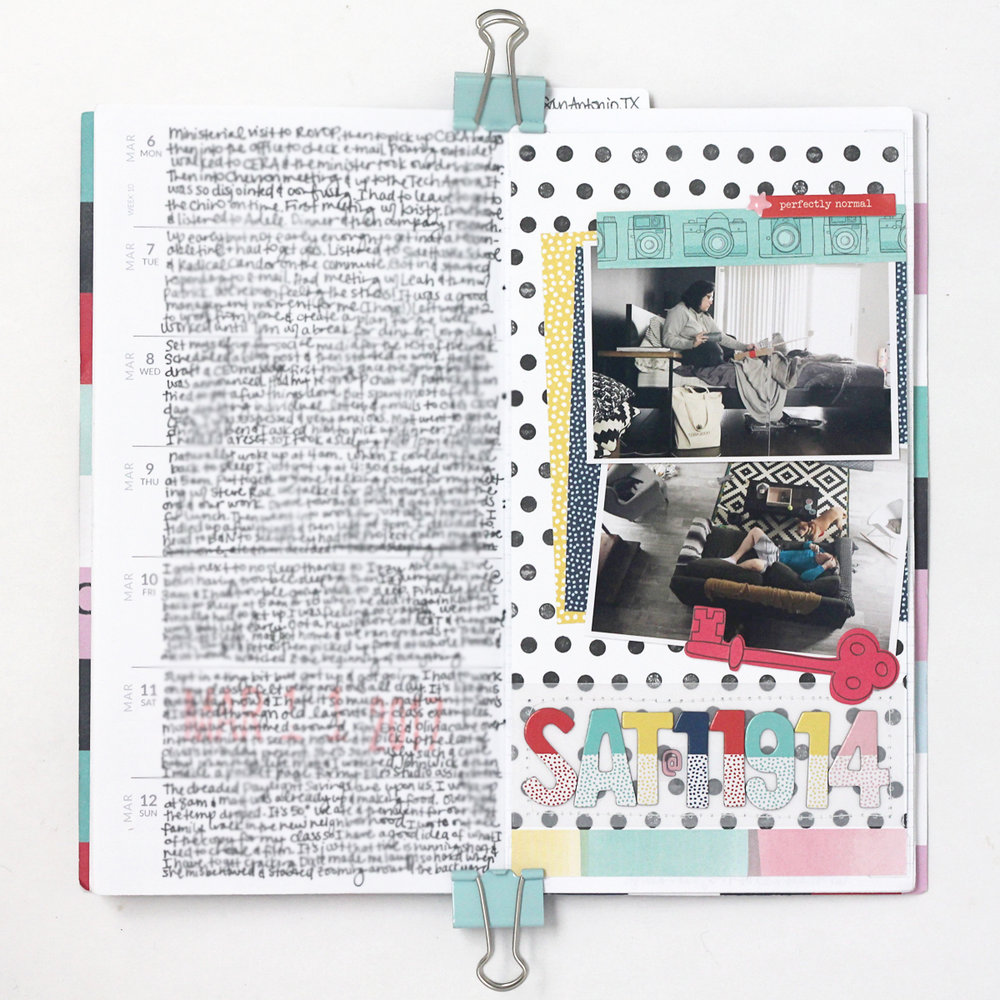 Blogged:  Memory Notebook Week 10