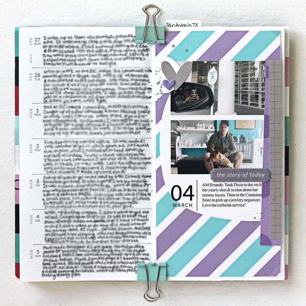 Blogged:  Memory Notebook Week 09