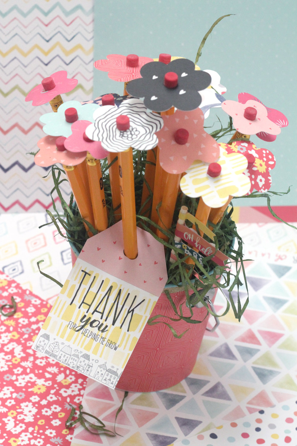 Blogged:  Pencil Bouquet