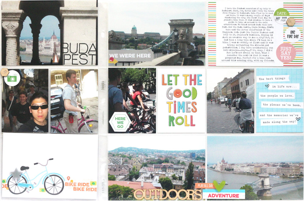 Budapest Bike Ride 02/02  Blogged: http://www.jamieleija.com/home/2017/5/10/elles-studio-may-2017-release