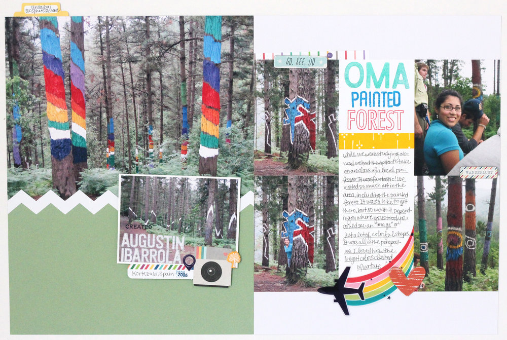 OMA Painted Forest  Blogged: http://www.jamieleija.com/home/2017/6/5/crafters-collab-20