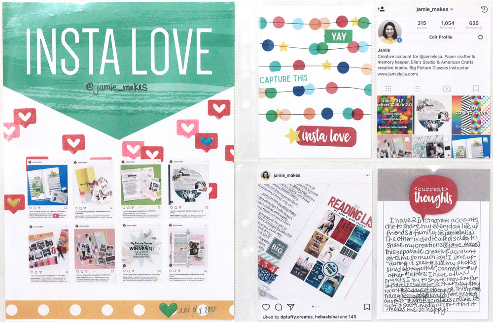 Insta Love  Blogged: http://www.jamieleija.com/home/2017/6/2/elles-studio-june-2017-release-day