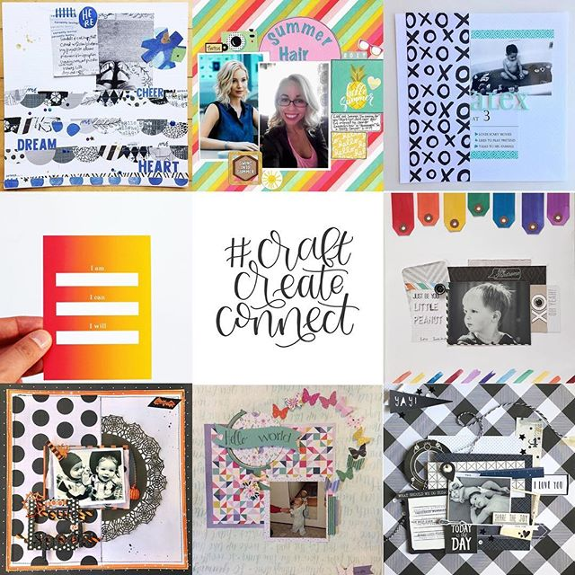For today's #craftcreateconnect I wanted to share some of the awesome #jamfoxcrafterscollab submissions! @scrappylikeafox and I are so excited that people are playing along! First two challenges are rainbow and black+white+one color and a new challenge will be up on Monday! If you want to play along here's everything you need to know: .  To enter for a chance to win 1 of 2 prizes, 1) Share one image of your completed project on Instagram 2) Include the hashtag #jamfoxcrafterscollab 3) We'd love it if you followed us @jamie_makes and @scrappylikeafox. You can enter as many challenges as you like. Each completed project will get you one entry into the drawing. All projects are due Friday, June 30 by 11:59 CST. Winners will be announced Sunday, July 2. Challenge is open to international participants. This challenge is in no way sponsored, endorsed or administered by Instagram. . . . . . #coloraddict #colorlove #colormehappy #ilovecolor #jamfoxcrafterscollab #papercraft #papercrafting #paperlove #prettypaper #scrapbook #scrapbooker #scrapbooking #scraphappy