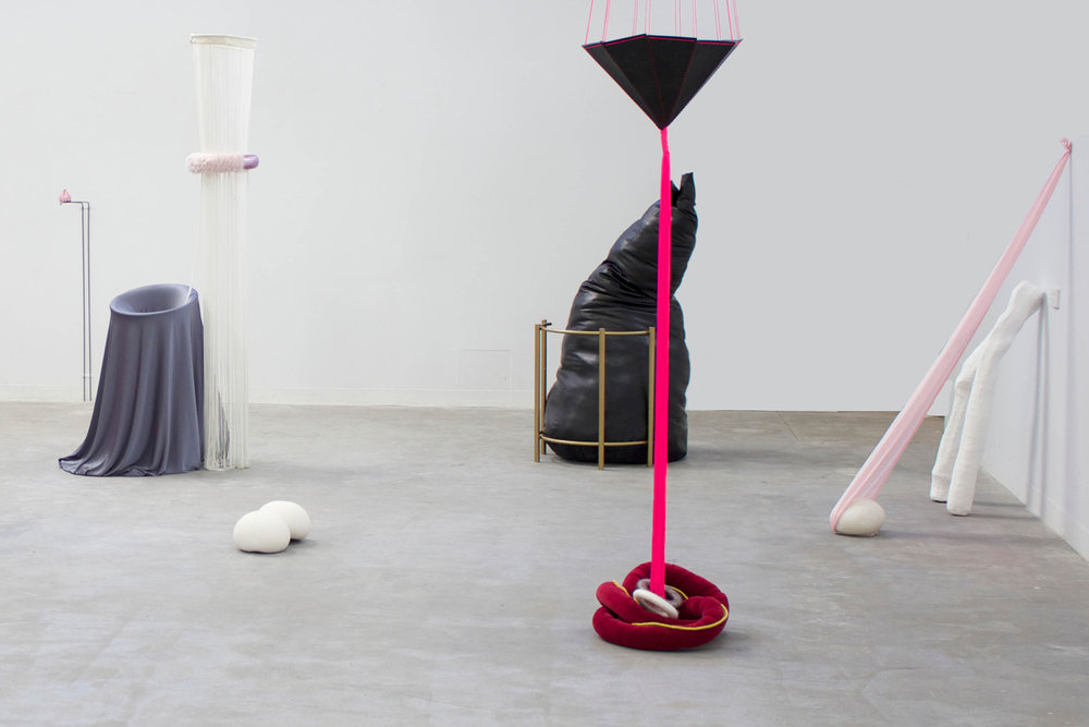 ate Power, Coming Across to You, 2014, installation view, mixed media, dimensions variable.