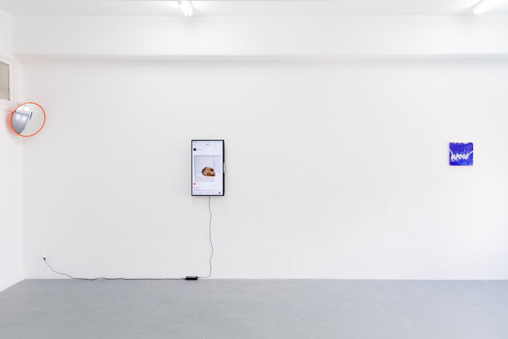 Title is important | installation BLINDSIDE 2016 | Photograph by Dane Lovett