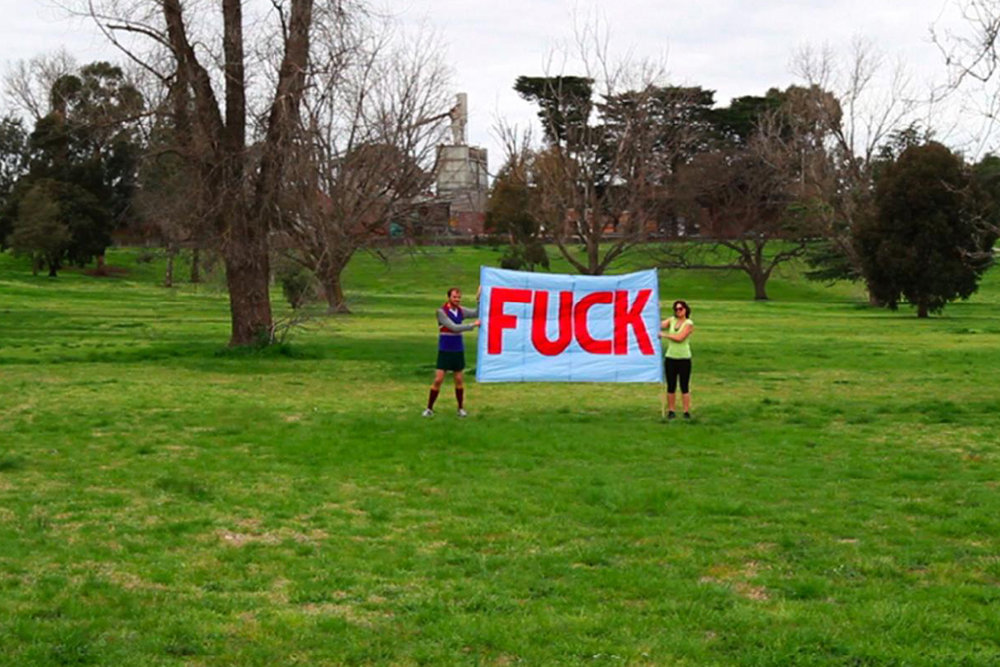 Rafaella McDonald & Briony Galligan 'FUCK YEAH!' 2011.jpg