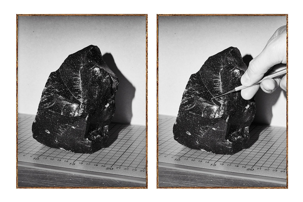 Henry Trumble, The Object & The Object (demonstrated) , framed darkroom prints | Courtesy the artist.