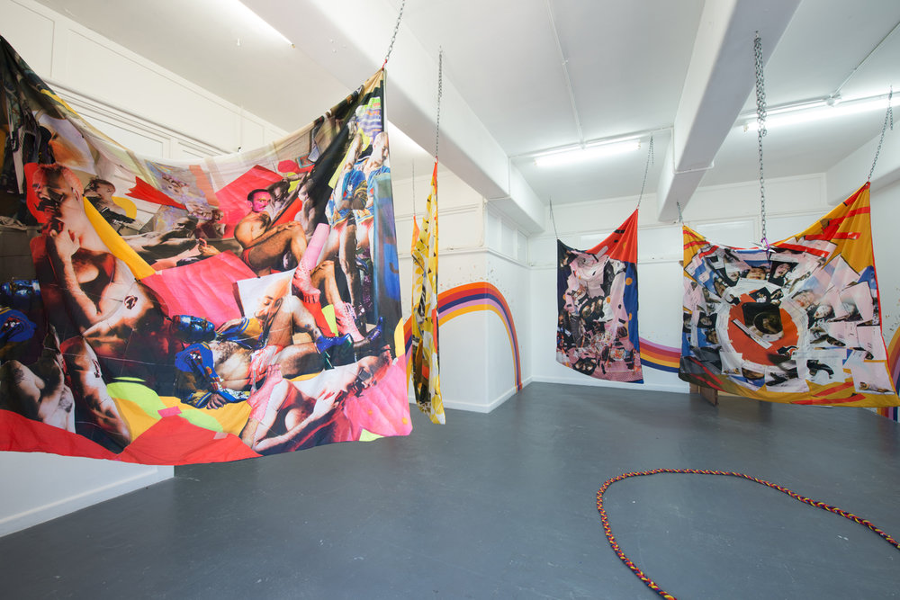 Kieran Butler,  Rainbow Bois and Magical Gurls,  2018, installation view, BLINDSIDE 2018. Photo Nick James Archer. Courtesy the artist.