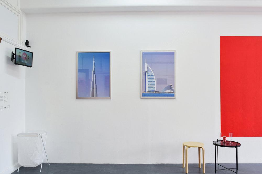 Majed Fayad,  Fly Sky High... Dubai , 2018. Courtesy the artist. Photo Rubie Bridie