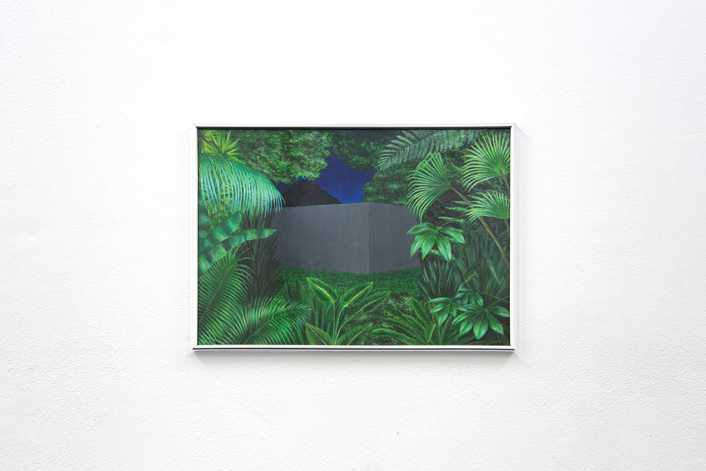 Mia Middleton,  Ambient Place, Being There , BLINDSIDE 2018. | Courtesy the artist.